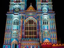 ` S de Patrice Warrener la luz del alcohol en la abadía de Westminster Foto de archivo libre de regalías