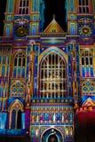 ` S de Patrice Warrener la luz del alcohol en la abadía de Westminster Foto de archivo