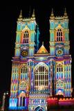 ` S de Patrice Warrener la luz del alcohol en la abadía de Westminster Fotos de archivo
