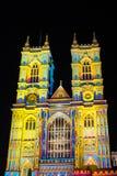 ` S de Patrice Warrener la luz del alcohol en la abadía de Westminster Fotos de archivo libres de regalías