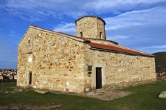 `S de San Pedro e iglesia del `s de Paul, Novi Pazar Imagen de archivo libre de regalías