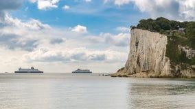 ` S de St Margaret em Cliffe, Kent, Inglaterra, Reino Unido fotos de stock