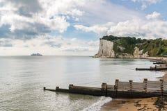 ` S de St Margaret em Cliffe, Kent, Inglaterra, Reino Unido fotografia de stock royalty free