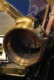 1910s de uitstekende Amerikaanse koplamp van het autogas Stock Foto