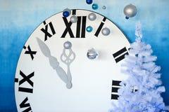 ` S del Año Nuevo en la decoración de medianoche Fotografía de archivo libre de regalías