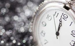 ` S del Año Nuevo en la medianoche Imagen de archivo libre de regalías