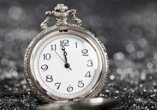 ` S del Año Nuevo en la medianoche Fotografía de archivo