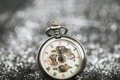 ` S del Año Nuevo en la medianoche Fotos de archivo libres de regalías