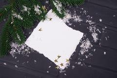 ` S del Año Nuevo o postal de la Navidad Foto de archivo libre de regalías