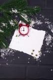 ` S del Año Nuevo o postal de la Navidad Imagen de archivo