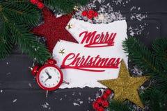 ` S del Año Nuevo o postal de la Navidad Imagenes de archivo