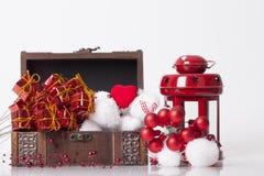 ` S del Año Nuevo y decoración de la Navidad Fotografía de archivo