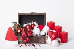 ` S del Año Nuevo y decoración de la Navidad Foto de archivo libre de regalías