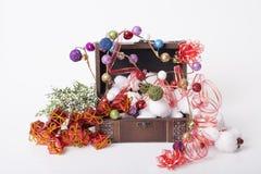 ` S del Año Nuevo y decoración de la Navidad Fotografía de archivo libre de regalías