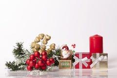` S del Año Nuevo y decoración de la Navidad Fotos de archivo libres de regalías