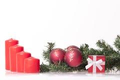 ` S del Año Nuevo y decoración de la Navidad Imágenes de archivo libres de regalías