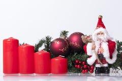 ` S del Año Nuevo y decoración de la Navidad Imagen de archivo libre de regalías