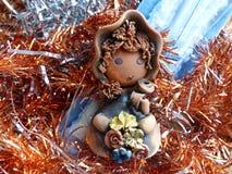 ` S del Año Nuevo y la Navidad Vela del gnomo y de la Navidad El interior del Año Nuevo Fotografía de archivo