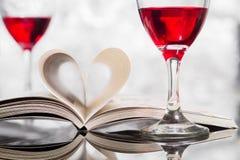 ` S del biglietto di S. Valentino Fotografie Stock