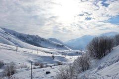 ` S del invierno de la mañana Imagen de archivo libre de regalías