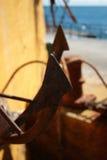 ` S dell'ancora via Fotografia Stock Libera da Diritti