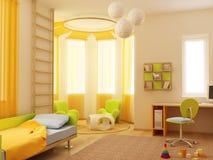 εσωτερική αίθουσα s παι&delta Στοκ Εικόνες