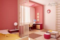 εσωτερική αίθουσα s παι&delta Στοκ Φωτογραφία