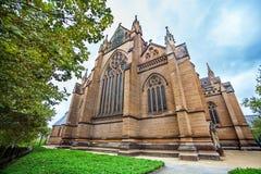 ` S der Heiligen Maria Kathedrale in Sydney Stockbilder