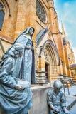 ` S der Heiligen Maria Kathedrale in Sydney Australia Lizenzfreie Stockbilder