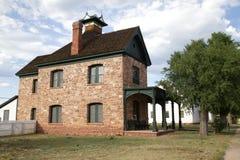 ` S des befehlshabenden Offiziers Viertel - Ft apache Stockbild