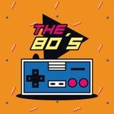 The 80s design. Vector illustration graphic design vector illustration