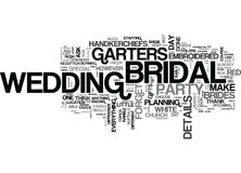 It S The Details That Count Right Down To The Bridal Garters Word Cloud Concept Stock Photo