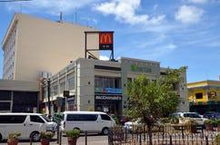 ` S di McDonald a Cebu fotografia stock