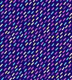 Hand drawn vector seamless pattern in retro memphis style. 80s disco style ornament in bright colors for fabric, wrapping paper, stock image