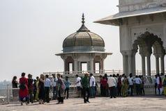 ` S Diwan-i-khas de Samman Burj y de Shah Jahan Fotografía de archivo libre de regalías