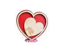 ` S do coração Fotos de Stock