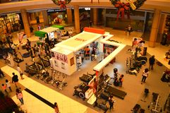 ` S do equipamento do Gym para a venda Fotografia de Stock