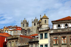 Porto Cathedral Royalty Free Stock Images