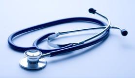 s doktorski stetoskop Obrazy Stock