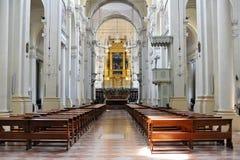 S.Domenico Basiliek in Bologna Stock Afbeeldingen