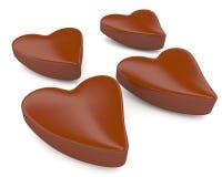 `S dos doces de chocolate Imagem de Stock Royalty Free
