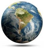 s?dra Amerika jordplanet vektor illustrationer