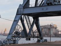 S?dra port i Moskva fotografering för bildbyråer