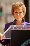 Sędzia Judy Sheindlin Fotografia Royalty Free
