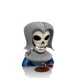 Sędziego avatar czaszka Obraz Stock