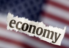 It's The Economy Stock Photo