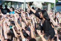170 9's EndFest 2014 Fotografia de Stock Royalty Free