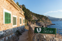 S'Estaca village in Mallorca Royalty Free Stock Images