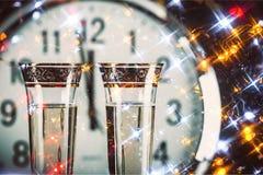 ` S Eve Нового Года Стоковая Фотография