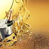 ` S Eve Нового Года Стоковое Изображение RF